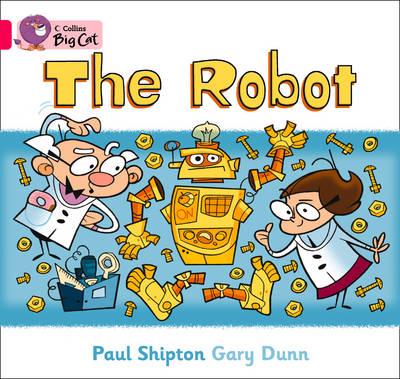 The Robot Band 01b/Pink B by Paul Shipton