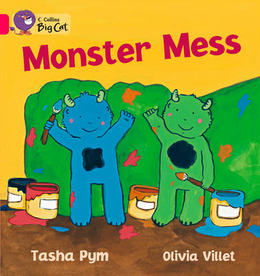 Monster Mess Band 01b/Pink B by Tasha Pym