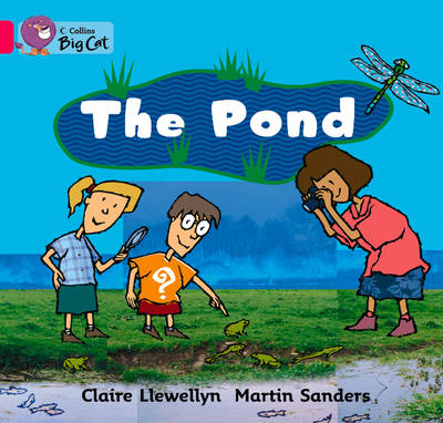 The Pond Band 01b/Pink B by Claire Llewellyn