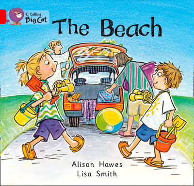 The Beach: Band 02a/Red A by Alison Hawes
