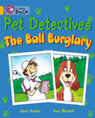 Collins Big Cat The Pet Detectives: The Ball Burglary Workbook by