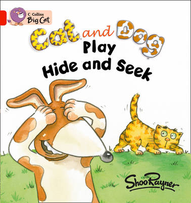 Cat and Dog Play Hide and Seek Workbook by