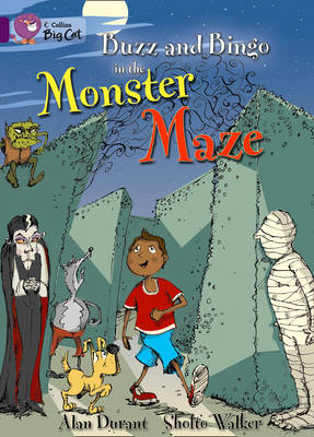 Buzz and Bingo in the Monster Maze Band 08/Purple by Alan Durant