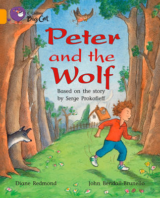Peter and the Wolf Band 09/Gold by Diane Redmond