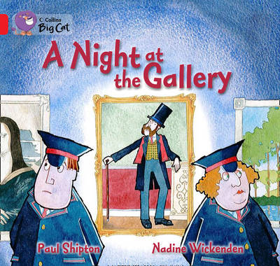 A Night at the Gallery Red A/ Band 2A by Paul Shipton