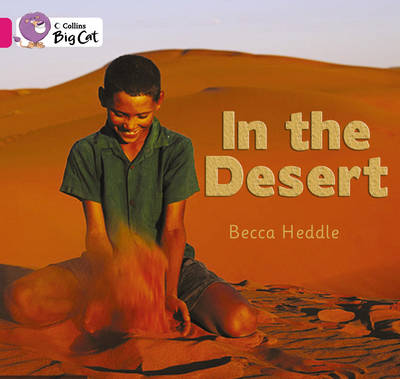 In the Desert Band 1B/Pink by Rebecca Heddle