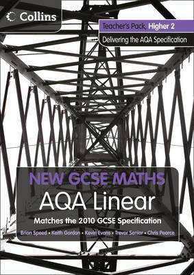 AQA Linear Higher 2 Teacher Pack by Kevin Evans, Keith Gordon, Trevor Senior, Brian Speed