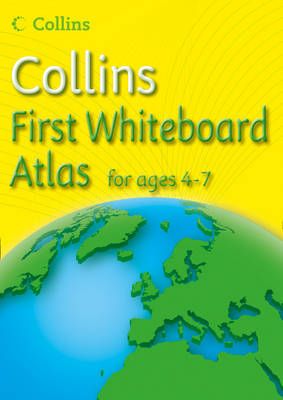 Collins First Whiteboard Atlas by Collins Maps