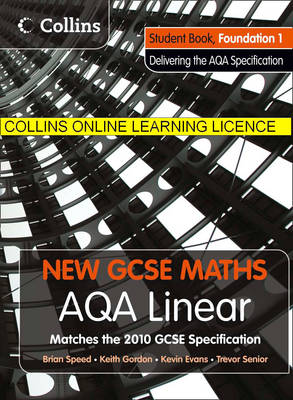 AQA Linear Foundation 1 Collins Online Learning 1 Year Licence by