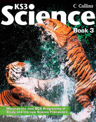 Collins KS3 Science - Student Book 3 Collins Online Learning 1 Year Licence by