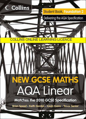 AQA Linear Foundation 2 Collins Online Learning 3 Year Licence by