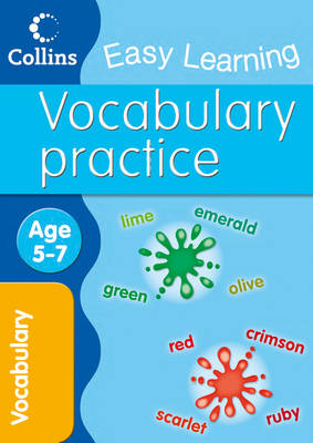 Vocabulary Age 5-7 by Sarah Lindsay, Collins Easy Learning