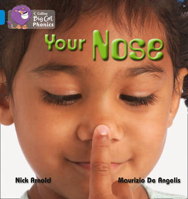 Your Nose Band 04/Blue by Nick Arnold