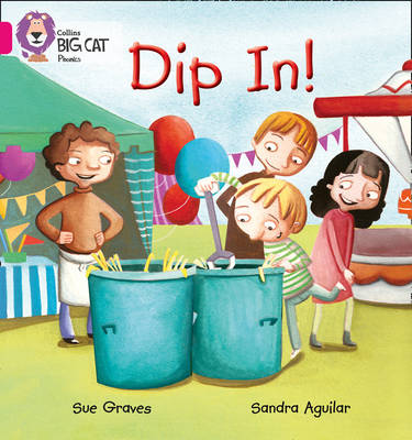 DIP IN Band 01a/Pink a by Sue Graves