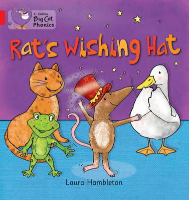 RAT'S WISHING HAT Band 02b/Red B by Laura Hambleton