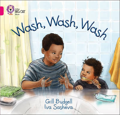 Wash, Wash, Wash Band 01A/Pink A by Gill Budgell