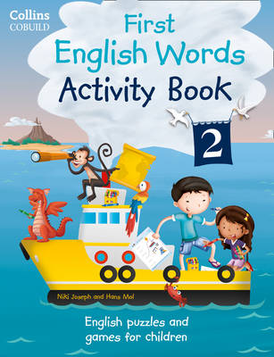 Collins First: First English Words Activity Book 2 by