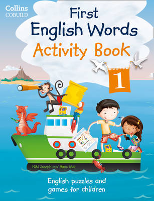 Collins First English Words - Activity Book 1 Age 3-7 by