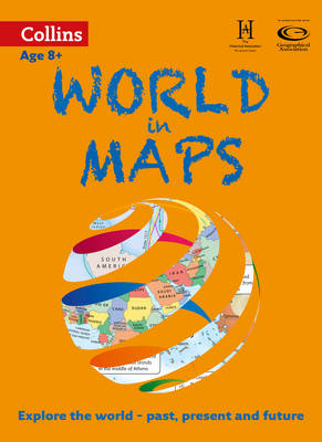 World in Maps by Stephen Scoffham, Collins Maps