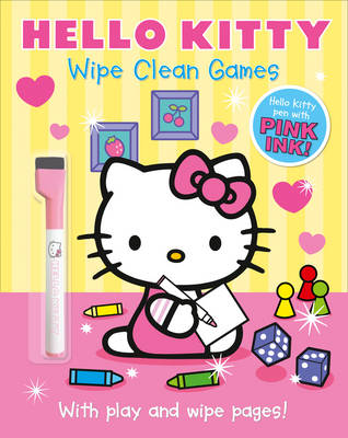 Hello Kitty: Wipe Clean Games by