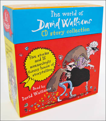 The World of David Walliams CD Story Collection The Boy in the dress/Mr Stink/Billionaire boy/Gangsta granny/Ratburger by David Walliams