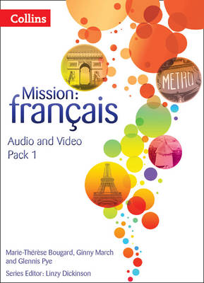Mission: Francais - Audio Video Pack 1 by Marie-Therese Bougard, Ginny March, Glennis Pye