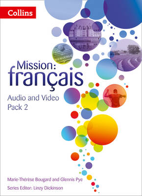 Mission: Francais Audio Video Pack 2 by Marie-Therese Bougard, Ginny March, Glennis Pye