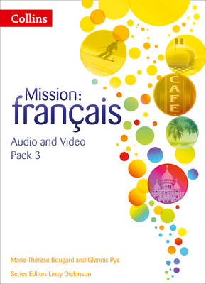Mission: Francais - Audio Video Pack 3 by Marie-Therese Bougard, Glennis Pye