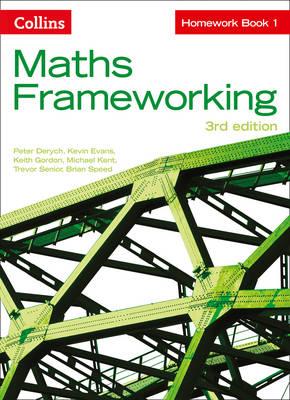 KS3 Maths Homework Book 1 by Peter Derych, Kevin Evans, Keith Gordon, Michael Kent