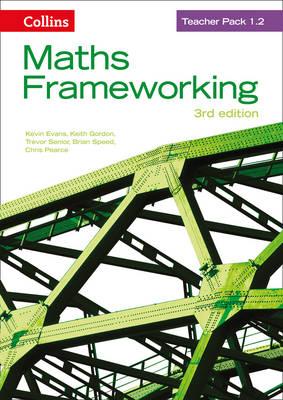 Maths Frameworking KS3 Maths Teacher Pack 1.2 by Kevin Evans, Keith Gordon, Chris Pearce, Trevor Senior