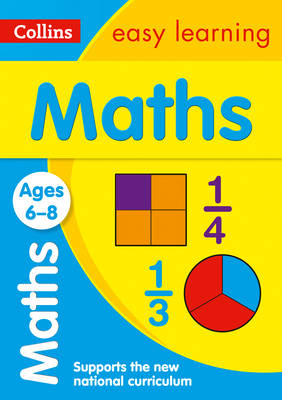 Maths Ages 6-8 by Collins Easy Learning