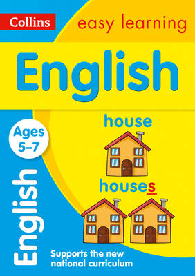 Collins Easy Learning KS1 English Ages 5-7 by Collins Easy Learning