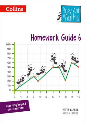 Homework Guide 6 by Jeanette A. Mumford, Sandra Roberts, Linda Glithro, Jo Power