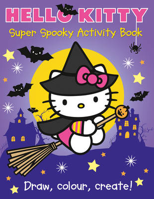 Hello Kitty Super Spooky Activity Book by