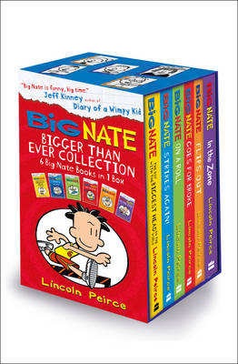 Big Nate Bigger Than Ever Collection by Lincoln Peirce