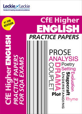 CfE Higher English Practice Papers for SQA Exams by Claire Bowles, Mia Stewart, Catherine Travis, Leckie & Leckie