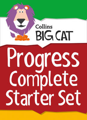 Collins Big Cat Sets Progress Complete Starter Set Band 03 Yellow - Band 11 Lime by