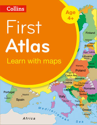 Collins First Atlas: Collins Primary Atlases [2nd Edition] by Collins Maps