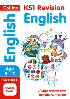 Collins KS1 Revision and Practice - New Curriculum KS1 English SATs Revision Guide by Collins KS1