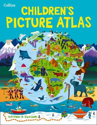 Collins Children's Picture Atlas by Collins Maps
