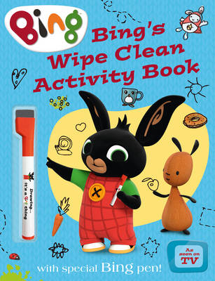 Bing's Wipe Clean Activity Book by
