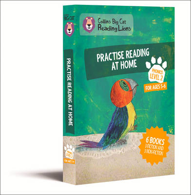 Collins Big Cat Reading Lions - Level 2: Practise Reading at Home by