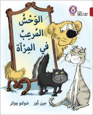 Collins Big Cat Arabic Readers Monster in the Mirror: Level 14 by Jean Ure