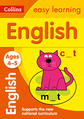 English Ages 4-5 by Collins Easy Learning, Carol Metcalf