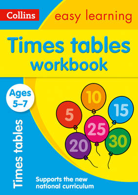 Times Tables Workbook Ages 5-7 by Collins Easy Learning, Simon Greaves