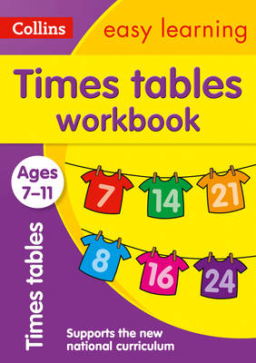 Times Tables Workbook Ages 7-11 by Collins Easy Learning, Simon Greaves