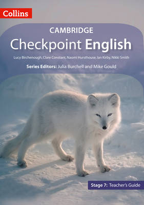 Collins Cambridge Checkpoint English Stage 7: Teacher Guide by Julia Burchell, Mike Gould