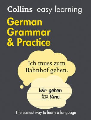 Easy Learning German Grammar and Practice by Collins Dictionaries