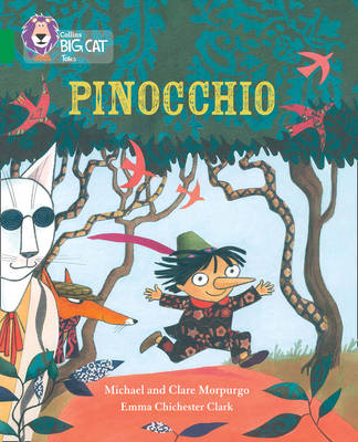 Pinocchio Band 15/Emerald by Michael Morpurgo