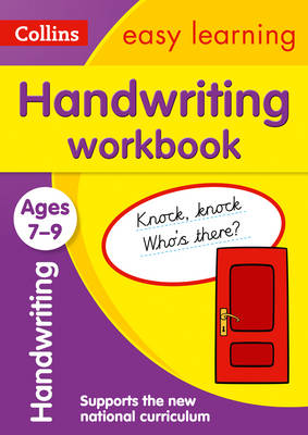 Handwriting Workbook Ages 7-9: New edition by Collins Easy Learning